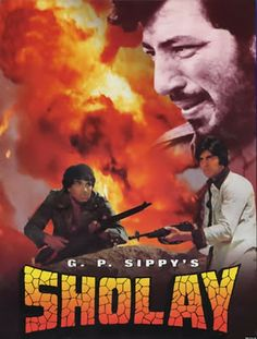 How To Download Sholay 1975 Full Hindi Movie 300MB Small Size Only At Downloadingzoo.com.