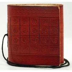Pocket Leather Blank Book