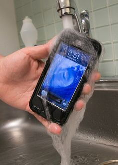 Make sure your phone is protected with this sturdy LifeProof case.