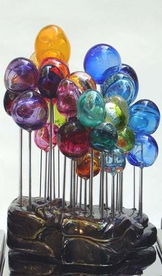 Blown glass Trees