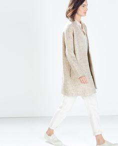 Image 3 de MANTEAU EN LAINE de Zara
