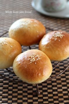 白あんパンの作り方