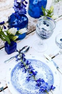 something blue table