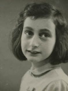Anne Frank, 10 years old – May 1940.