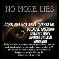 Greed is killing us!!