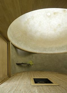 Get inspiration for your work in progress: a new architecture project! Find out … – Architektur - architecture house Space Architecture, Japanese Architecture, Architecture Details, Wabi Sabi, Dome Ceiling, Dome House, Japanese Interior, Japanese Design, Japanese Style