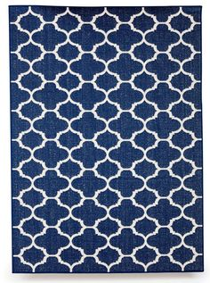 Features: -Winchester collection. -Color: Royal blue. -Rugs are UV treated to resist fading and hold up in areas that experience prolonged sun exposure. -Each outdoor patio rug is made from except