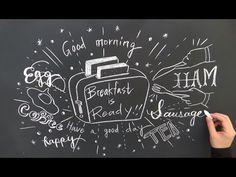 イラストとチョークレタリングで描く大人黒板 DIY:chalkart chalklettering
