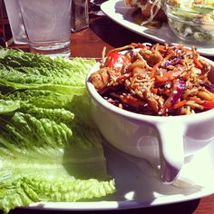 Photo by a_n_n_a_m_a_r_i_e25 - Dragon Boat Lettuce wraps from #ojsmenu. Can't get enough!! #happyday