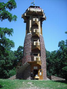 Fülöp-hegyi Milleniumi kilátó (Révfülöp közelében km)… Kili, Budapest Hungary, Travelogue, Country, Building, Places, Treehouse, Traveling, Nature