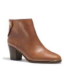 The Waldorf Bootie from Coach