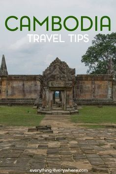 Cambodia is a country in Southeast Asia located along the Indochina peninsula. It was once referred to as the Khmer Empire. Here's what you can expect when traveling to Cambodia.