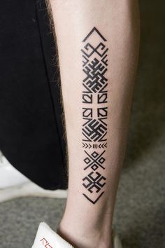 Latvian tattoo