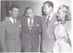 RADIO STARS ON PARADE - Dennis Day - Jack Benny - Phil Harris & wife Alice Faye - 1940s