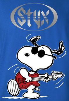 Snoopy Rocks with Styx!