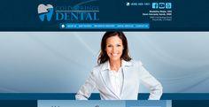 #sesamewebdesign #psds #dental #responsive #blue #top-menu #full-width #gradient #texture #contained #sidebar #side-bar #curvy