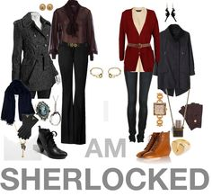 Sherlock and Watson clothes @La Farme / Anne Young  our clothes right here