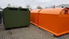 Containere pentru colectare selectiva a deseurilor produse in Germania de catre Bauer.