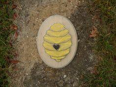 Bee Hive String Art