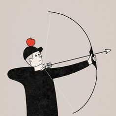 Target Practice - robbie porter illustration