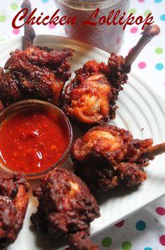YUMMY TUMMY: Chicken Lollipop Recipe / Restaurant Style Chicken Lollipop Recipe