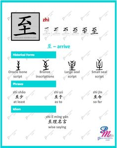 #365Chinese - Character of the Day @ #PaceMandarin zhì 至 arrive http://www.pace-mandarin.com/zhi4-arrive/