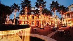 Reception venue--downtown Carillon Beach, Florida