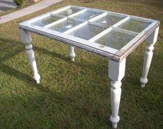 Caja de sombra de ventana antigua mesa luz opcional