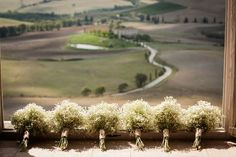 Can you even imagine hosting a wedding in Tuscany? It simply doesn't get more romantic, and this beautiful soiree captured by Amy Turner and planned to perfection by Super Tuscan Wedding Planners . Wedding Planner Italy, Italy Wedding, Wedding Planners, Getting Married In Italy, Bridesmaid Bouquet, Bridesmaids, Tuscan Wedding, Real Weddings, Italian Weddings