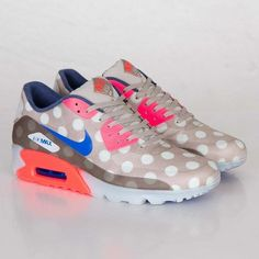Nike Air Max 90 Ice City QS Polka dot nikes? I might need these.