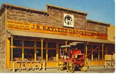 AJ Bayless Cracker Barrell Museum at 2nd Ave & Indian School - now an art supply store.