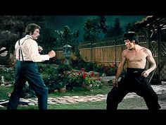 Bruce Lee VS Chuck Norris - YouTube