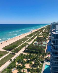 The view you wake up to, when at #grandsurfside. What's one word to describe it? https://www.grandbeachhotelsurfside.com/?utm_content=buffer93a6e&utm_medium=social&utm_source=pinterest.com&utm_campaign=buffer Photo by Valentina Vignali