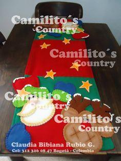 CAMINO DE MESA Coffee Cans, Gingerbread Cookies, Christmas Stockings, Christmas Crafts, Santa, Entertaining, Holiday Decor, Country, Home Decor