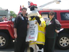 Touch a Truck July 2010 at Liberty Tree Mall ...LOL