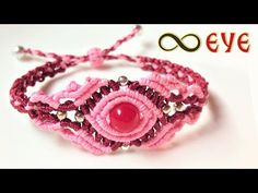 Macrame tutorial: The infinity Eye bracelet - Easy and elegant knotting project - YouTube