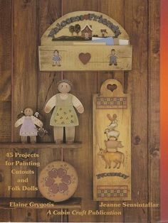 Welcome Friends by Elaine Grygotis and Jeanne Sensintaffar ♥etsy♥ $4.95 vintage tole painting books and supplies at Out of the Conex