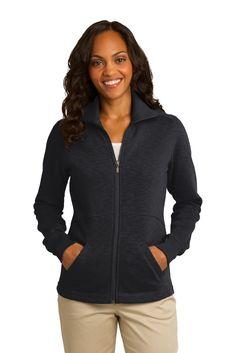 True to Size Apparel - Ladies Slub Full-Zip Jacket, $39.98 (http://truetosizeapparel.com/ladies-slub-full-zip-jacket/)
