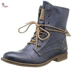 Mustang 1157503, Boots femme - Bleu (800 Dunkel Blau), 36 EU - Chaussures mustang (*Partner-Link)