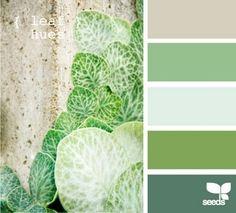 colores fresquitos en verde --> dan continuidad ya que el suelo comedor es verde