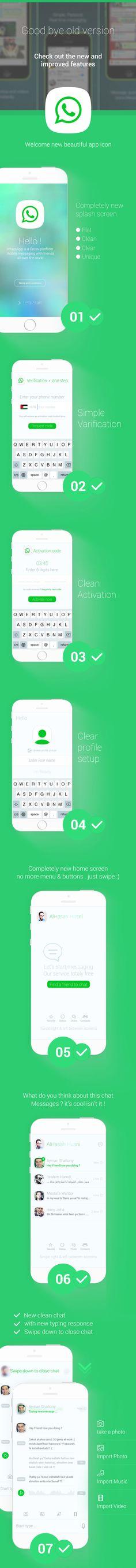 Whatsapp Concept 2014 - IOS