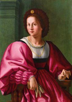 Pierfrancesco Foschi - Portrait of a woman