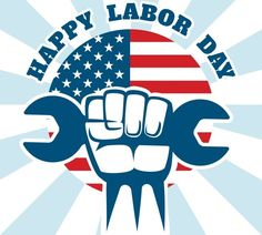 A brief history of Labor Day and worker's rights including Martin Luther King, Jr's thoughts. Labor Day Quotes, Weekend Quotes, Labor Day Clip Art, Labor Day History, Labor Day Pictures, Labor Photos, Labour Day Wishes, Labor Day Crafts, American Flag Background