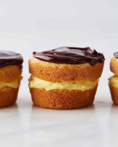 The classic pie flavors are just as delicious in cupcake form. Martha made this recipe on episode 701 of Martha Bakes.