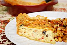 What's Cookin, Chicago?: Bacon, Swiss & Mushroom Quiche