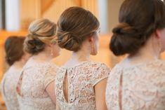 BRIDESMAID TRENDS Illusion Neckline & Statement Back Bridesmaid Dresses | SouthBound Bride