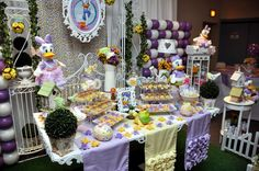 Daisy Duck Garden Birthday Party Ideas | Photo 1 of 19 | Catch My Party