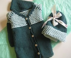 Ravelry: bumpy jacket & hat pattern by Fawn Pea