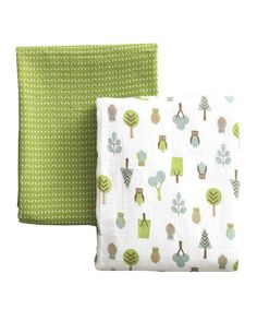 really like these prints muslin swaddle blankets
