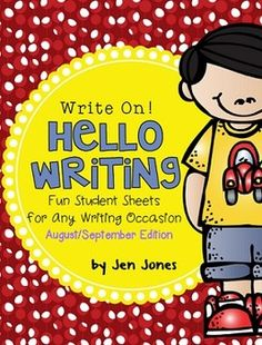 Write On! Hello Writing: Fun Sheets for Any Writing Occasion